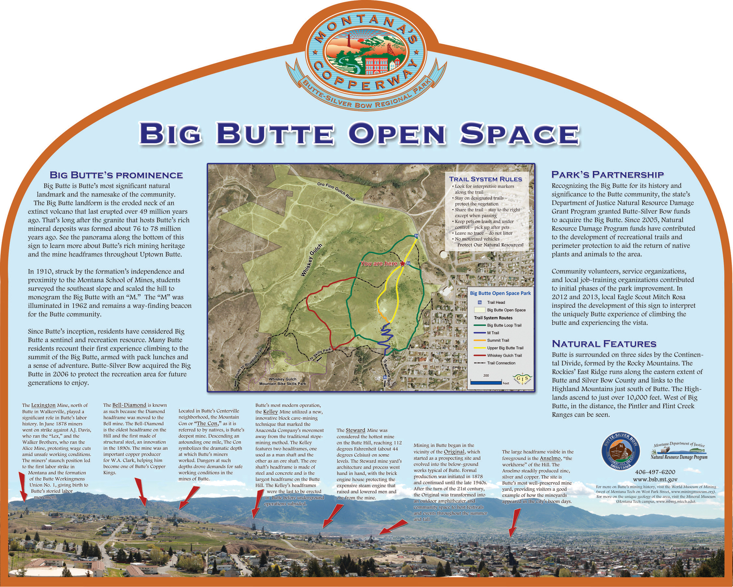 Trails Outdoor Recreation City and County of ButteSilver Bow MT