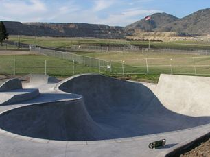 The Butte Skate Park in the East Butte RRA