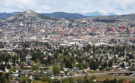 Landscapes of Butte, Montana